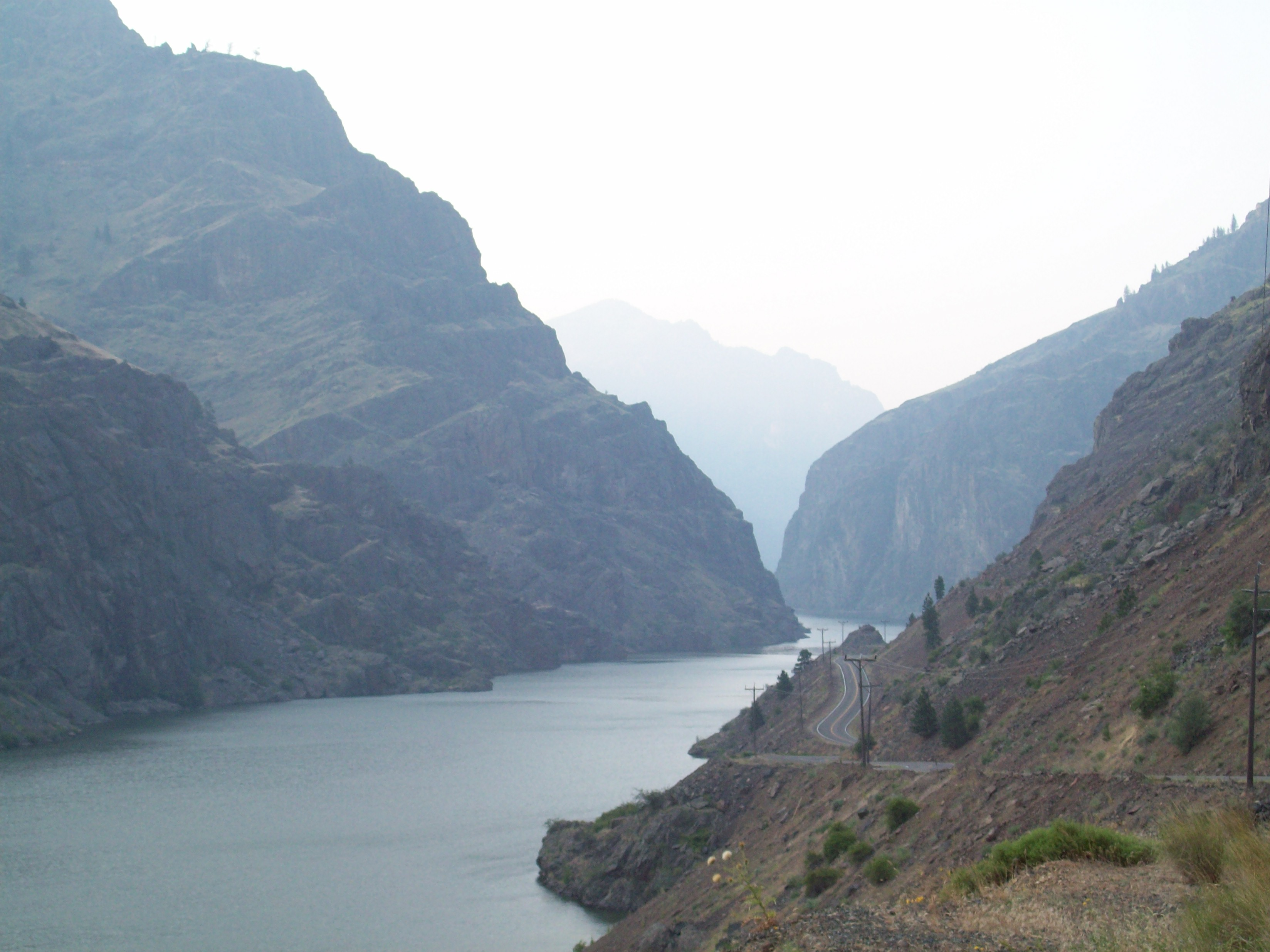 Snake River in Hell's Canyon